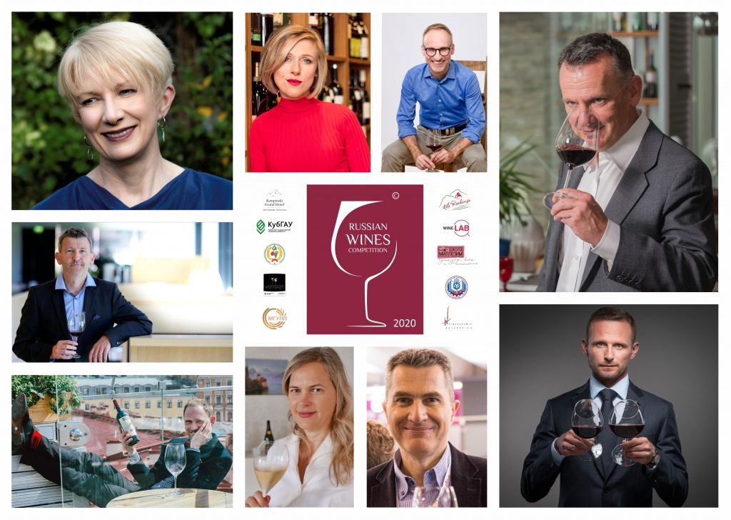 Judges of the Russian Wines Competition 2020